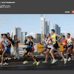 Frankfurt Marathon live stream