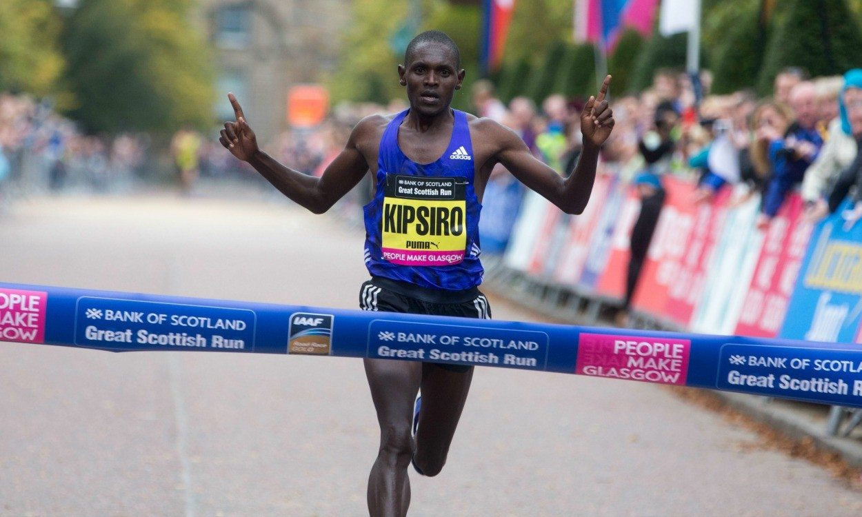 Moses Kipsiro back in Glasgow to defend Great Scottish Run title