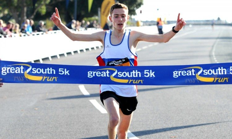Lachlan Wellington and Maisie Grice win Great South Run 5k