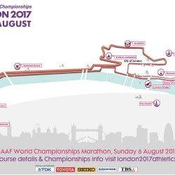 London 2017 announces iconic marathon and race walk routes