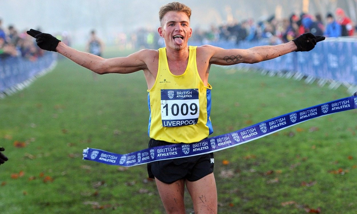 Andrew Butchart credits cross country