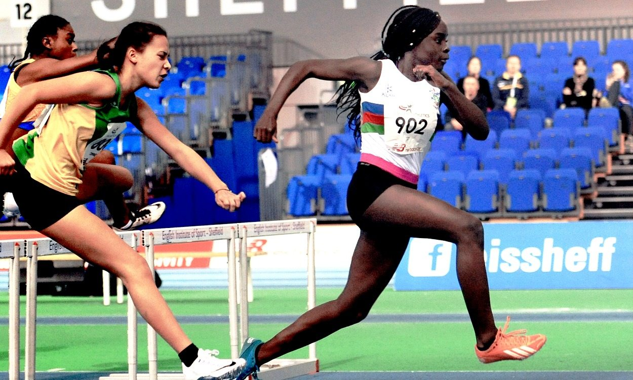 Hurdler Marcia Sey targets the top