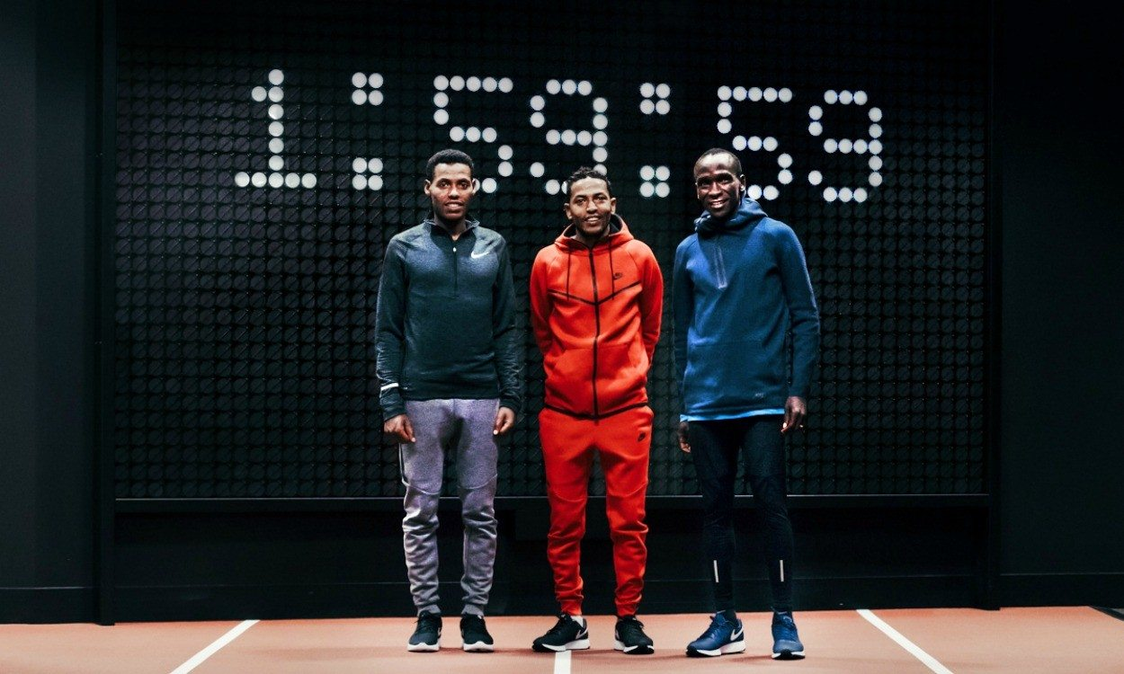 Nike launches sub-two-hour marathon mission – Breaking2