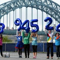 Charity runners raise almost £54m at Great Run events in 2016