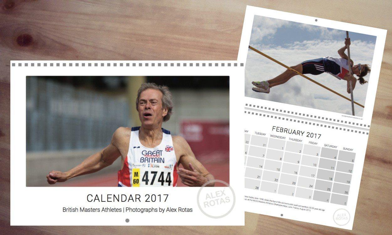 Alex Rotas masters athletics calendar