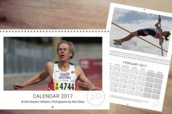 Alex Rotas masters athletics calendar