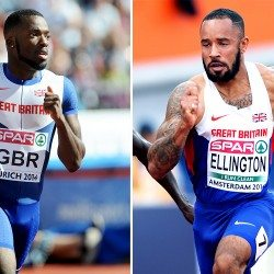 Sprinters James Ellington and Nigel Levine injured in road crash