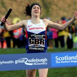Laura Muir leads Britain to Great Edinburgh XCountry relay victory