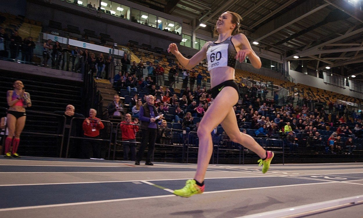 Laura Muir starts 2017 with a bang by smashing UK indoor 5000m record
