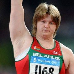 Nadzeya Ostapchuk stripped of Beijing 2008 shot put bronze