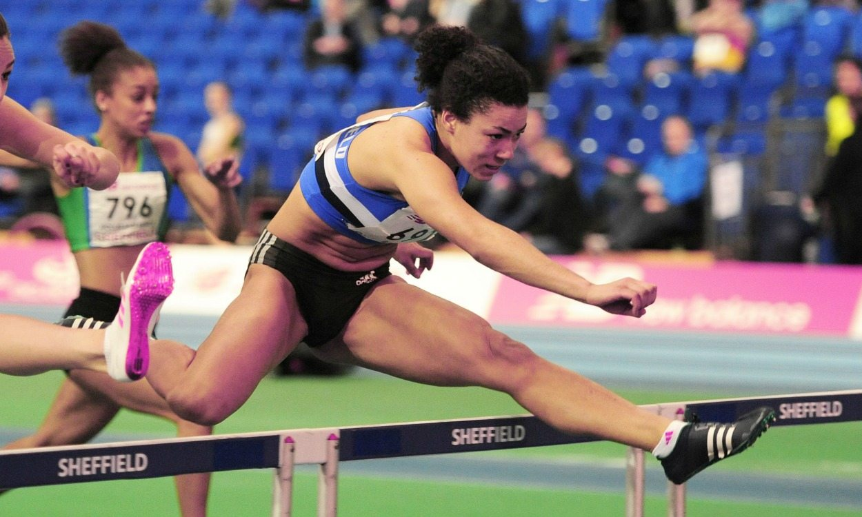 Alicia Barrett in record-breaking form at England Athletics indoor under-20 champs