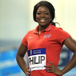 Asha Philip pleased with progress as she eyes indoor success