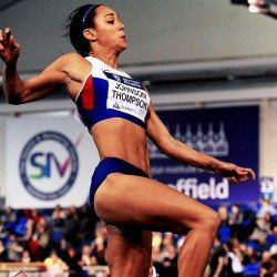 Katarina Johnson-Thompson withdraws from Müller Indoor Grand Prix