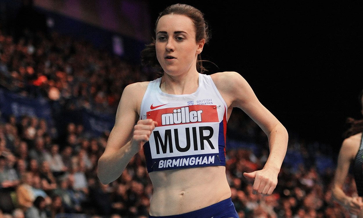 The shoe fits as Laura Muir breaks yet another record in Birmingham
