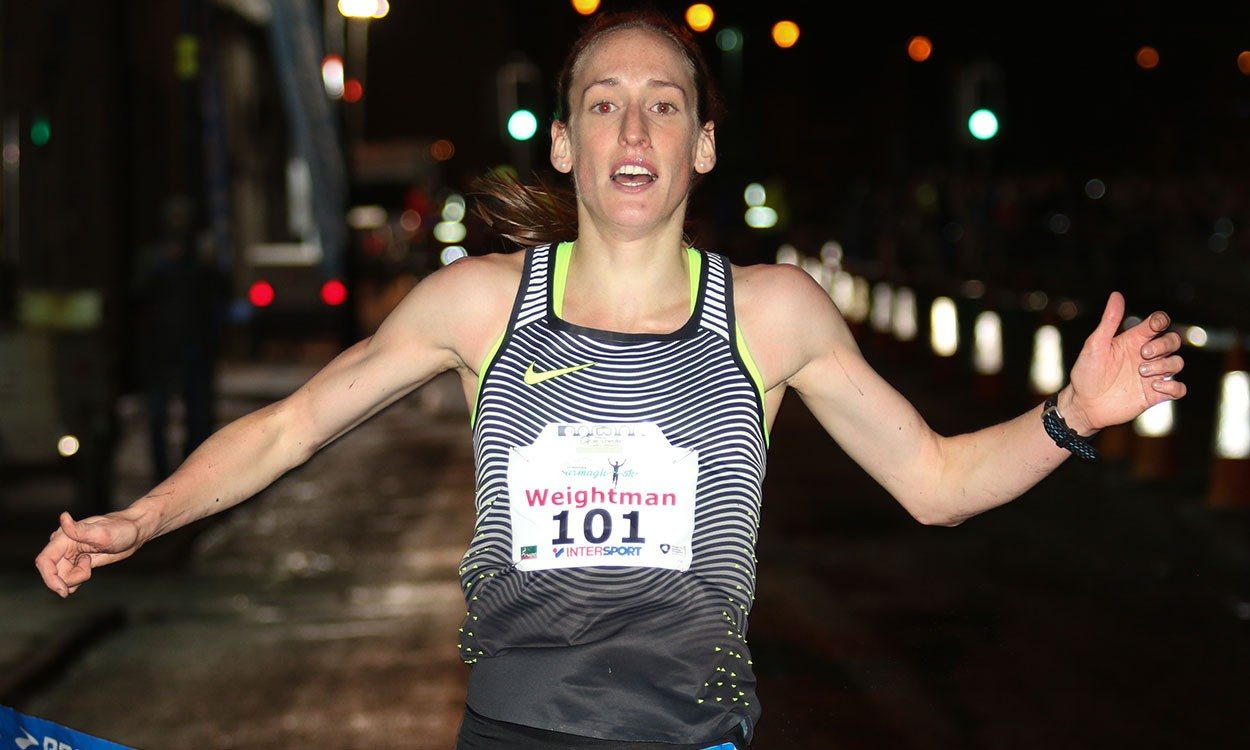 Laura Weightman breaks course record at Armagh International