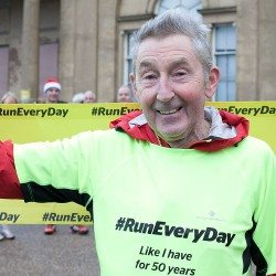 Ron Hill's 52-year run streak comes to an end