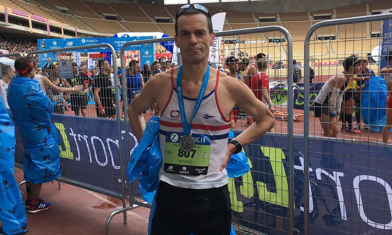 Steve Smythe achieves record 40-year span of sub-3:00 marathons