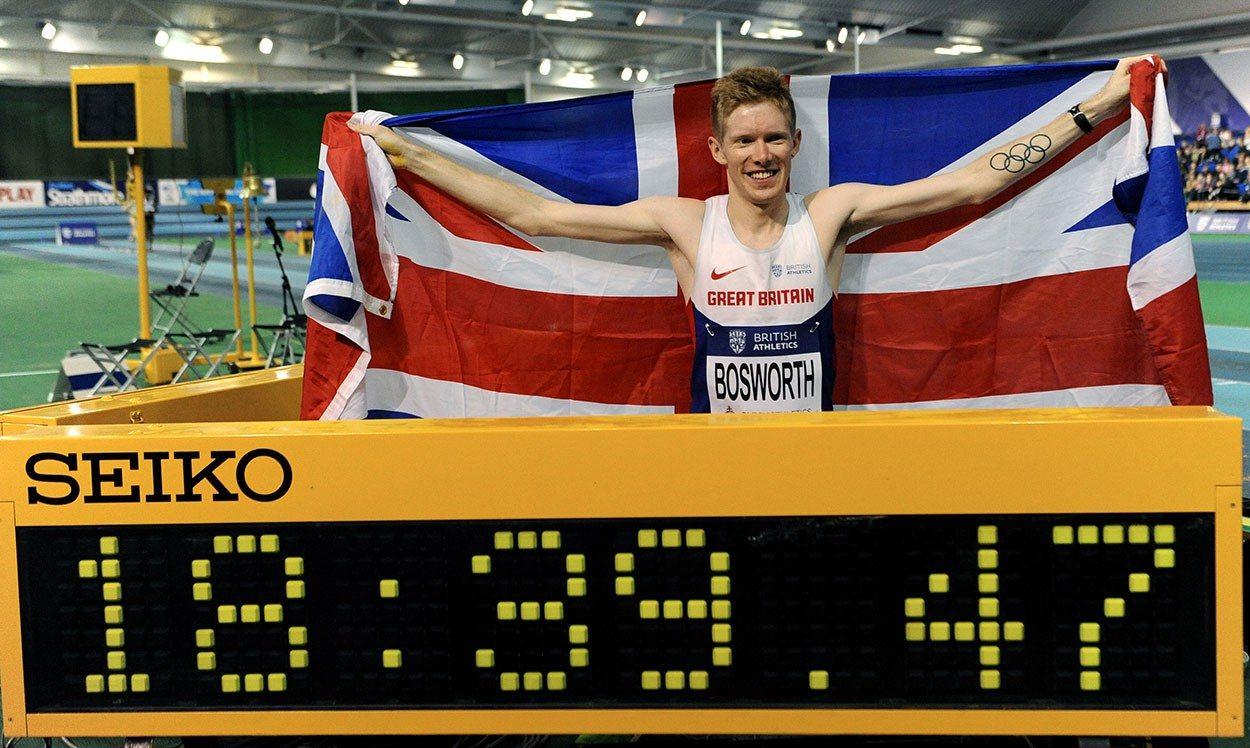 Tom Bosworth breaks British record in Sheffield