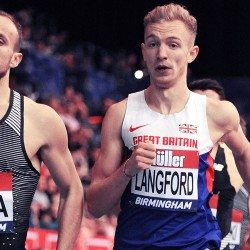Kyle Langford looking forward to a fast future