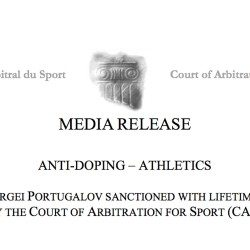 Russian doctor Sergei Portugalov handed life ban by CAS