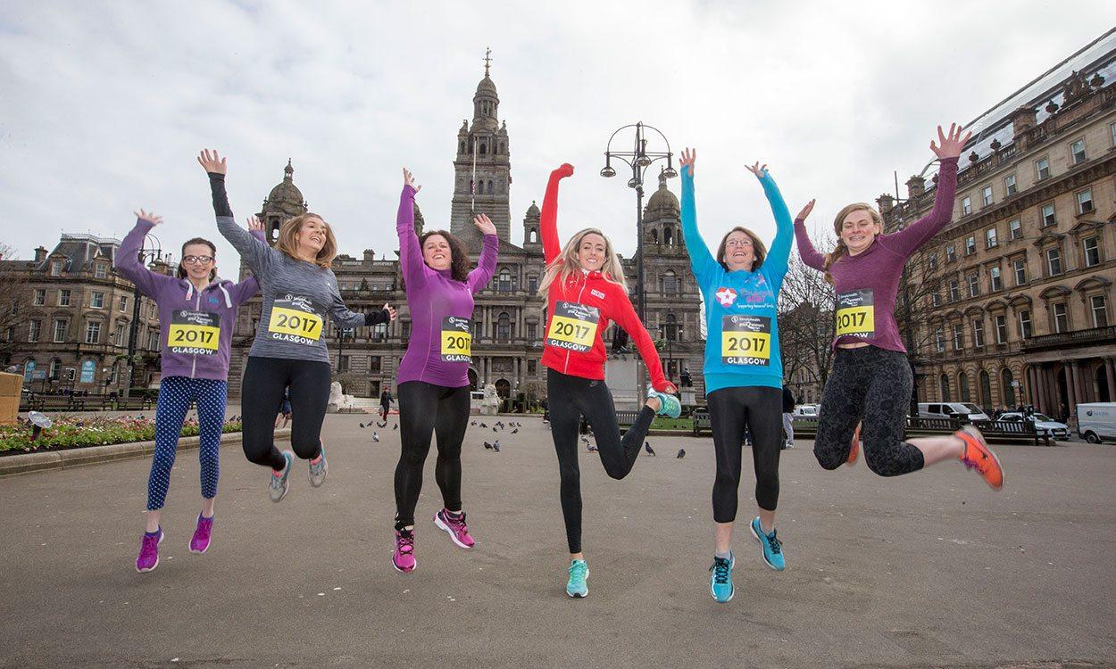 Eilish McColgan meets Simplyhealth Great Women's Run Super Six