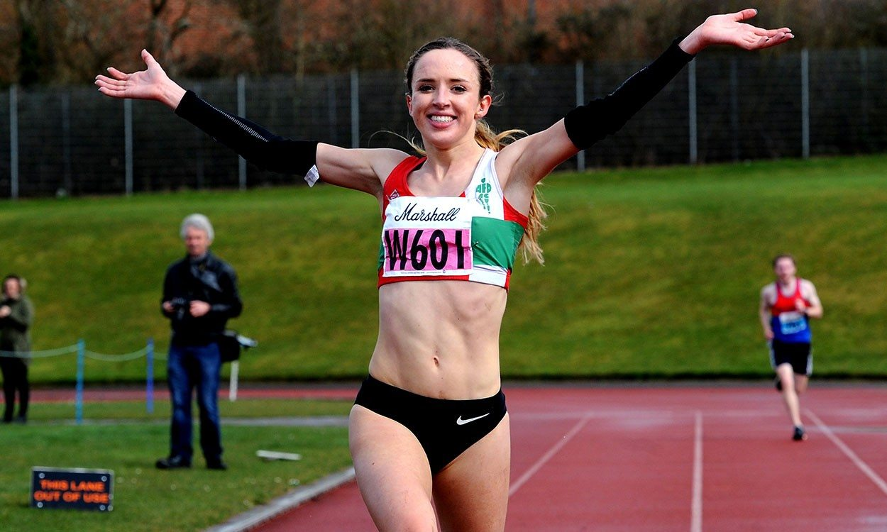Emelia Gorecka back on track after learning how to run again