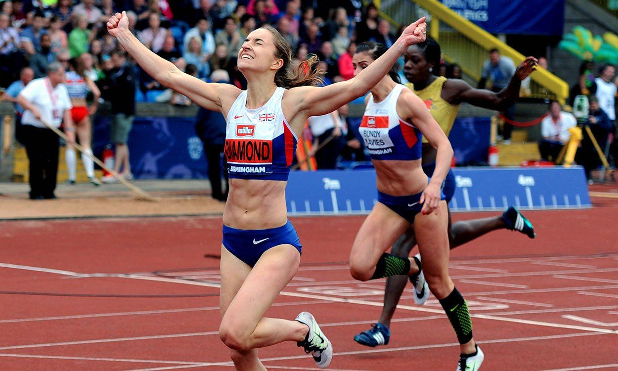 Athlete insight – Emily Diamond