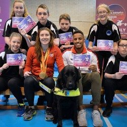 Libby Clegg launches nationwide schools World Para Athletics Champs ticket offer