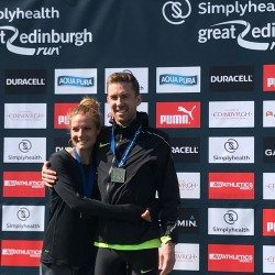 Daniel Wallis and Hillory Wallis win Great Edinburgh Run – weekly round-up