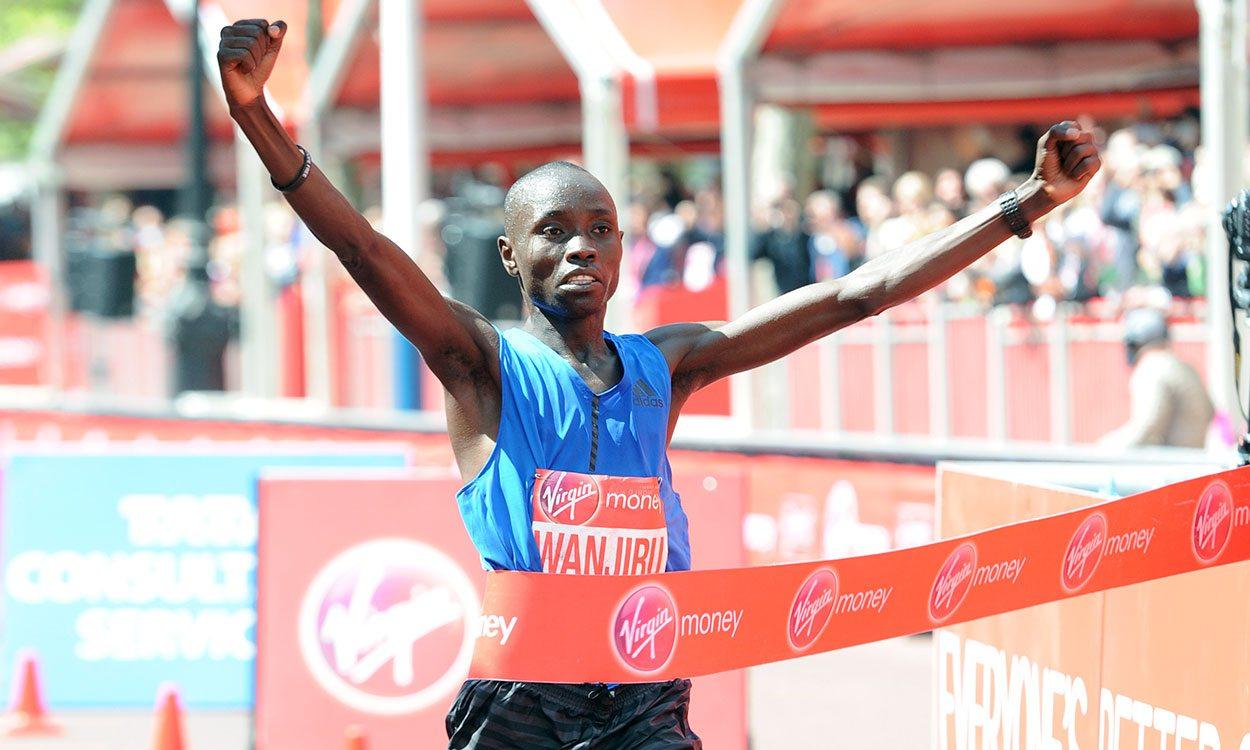 Daniel Wanjiru takes London Marathon men's title