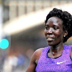 Edna Kiplagat and Geoffrey Kirui win Boston Marathon