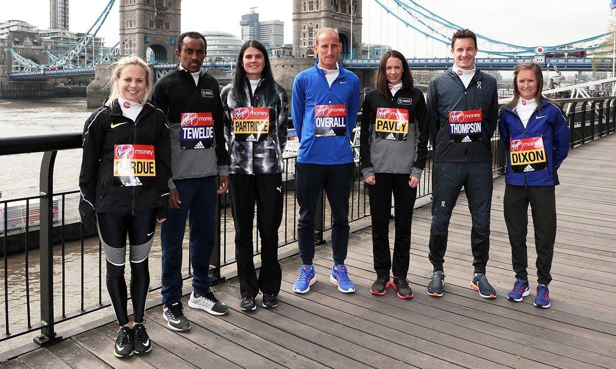 Top British athletes look ahead to London Marathon