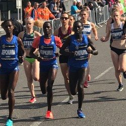 Caroline Kipkirui and Frankline Keitany win Great Birmingham 10k