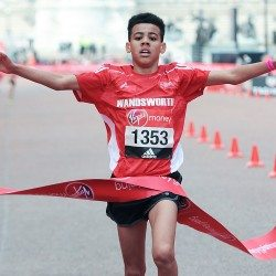 Youngsters impress in Mini London Marathon