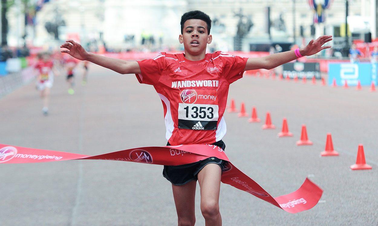 Youngsters impress in Mini London Marathon