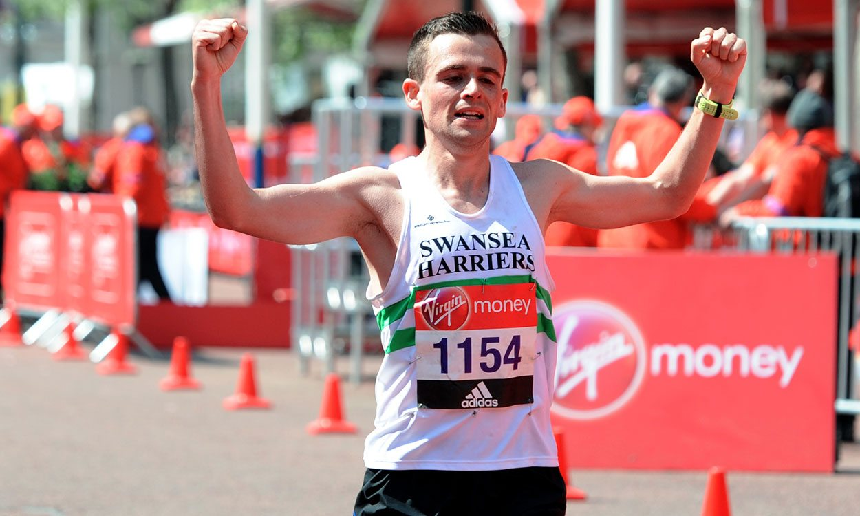 Josh Griffiths' London Marathon