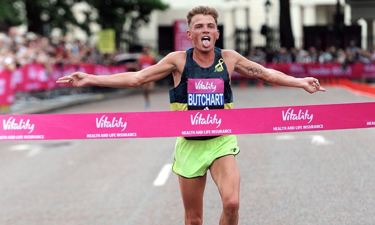 Andrew Butchart and Jo Pavey win London 10,000