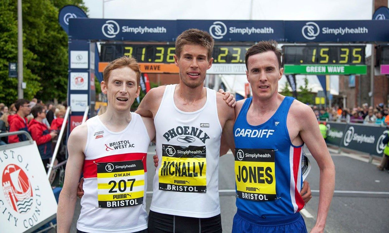 Finn McNally and Kate Maltby win Great Bristol 10k – weekly round-up