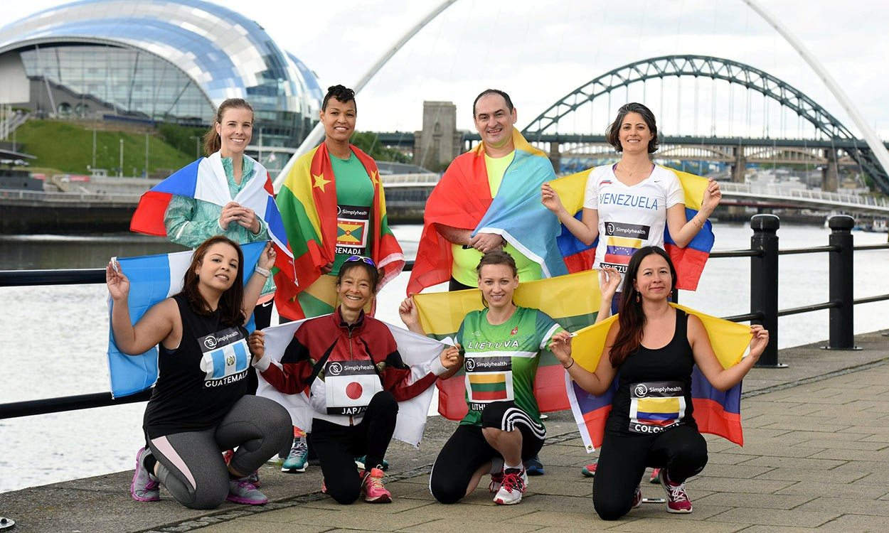Great North Run global challenge returns for 2017