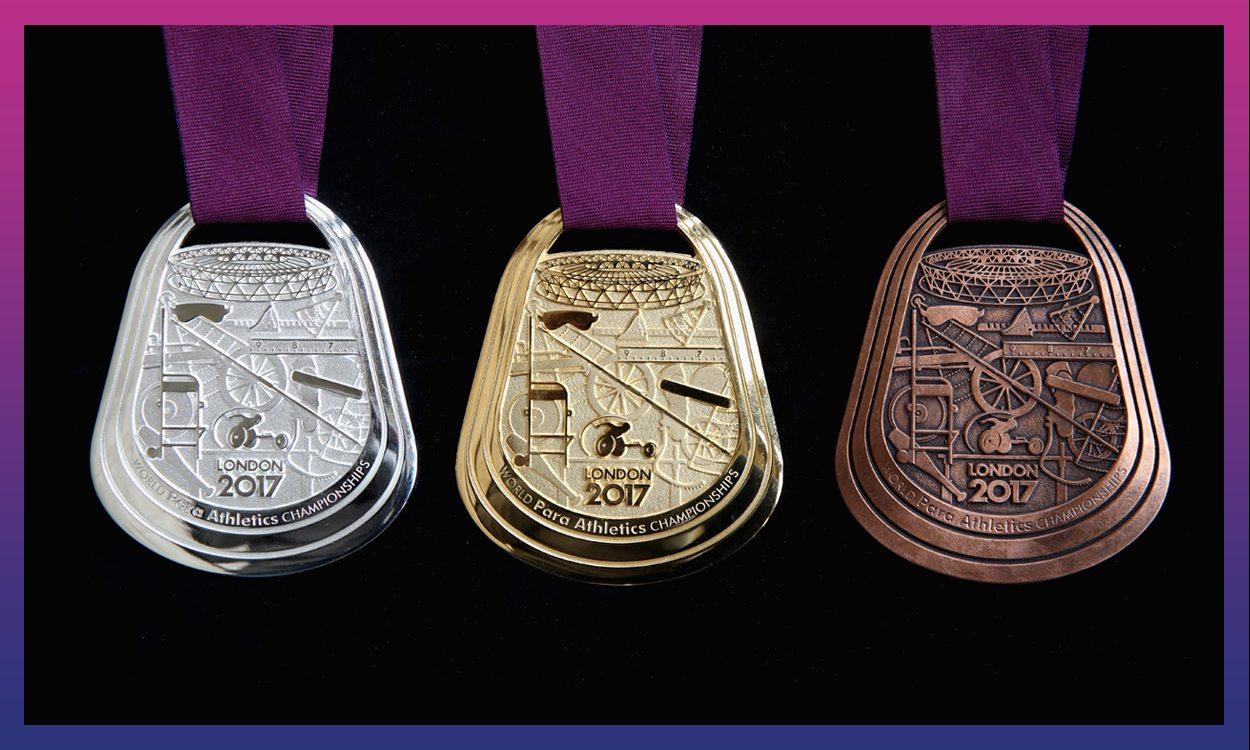 London 2017 Para Athletics Medals