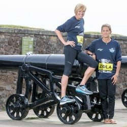 Liz McColgan and Zola Budd return to run in Scotland