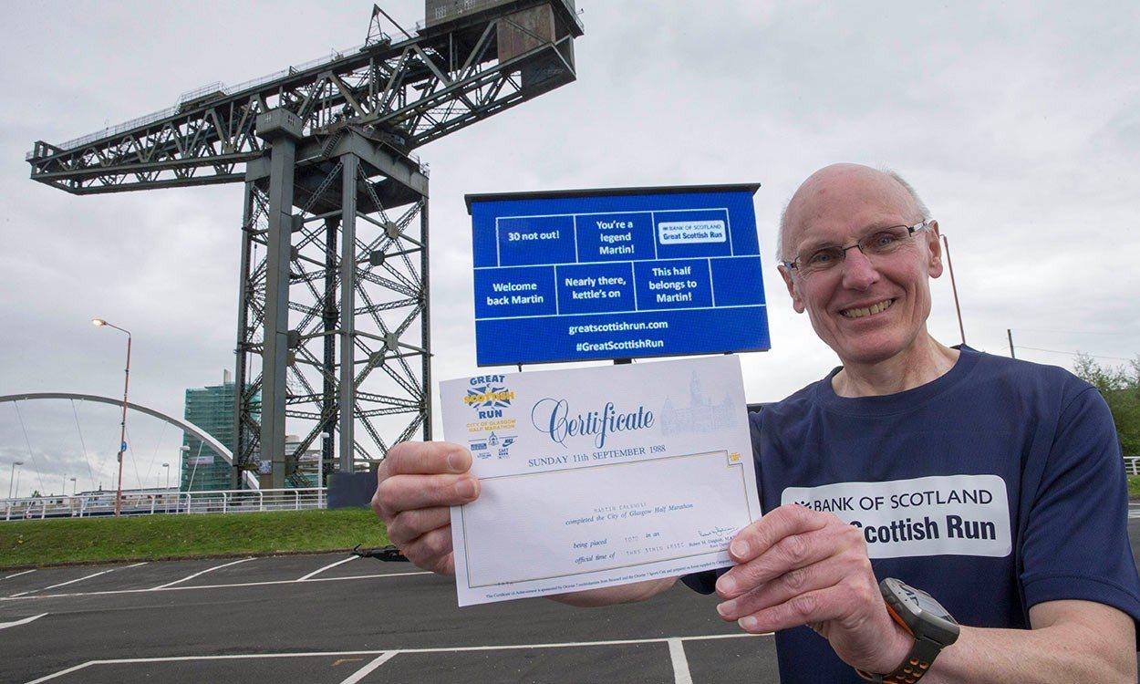 Martin Caldwell's Great Scottish milestone
