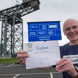 Martin Caldwell's Great Scottish milestone