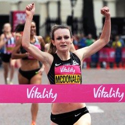 Sarah McDonald and Nick Goolab to defend Vitality Westminster Mile titles