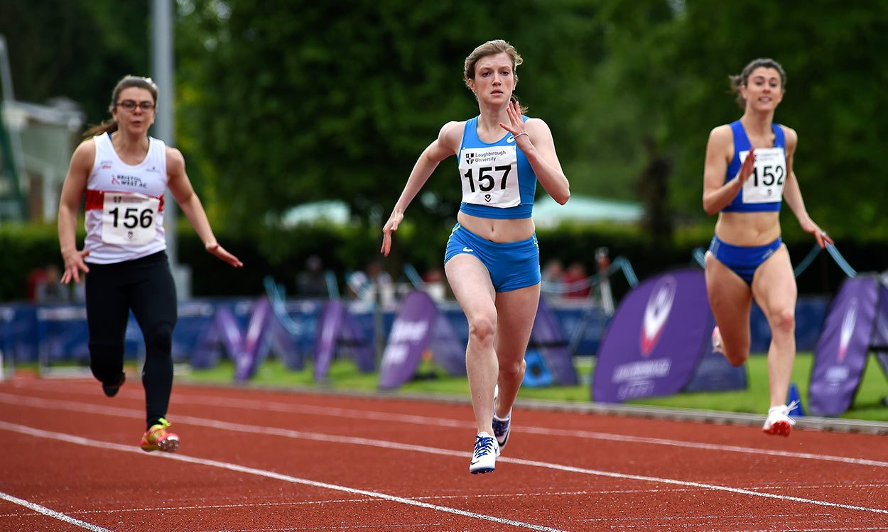 Sophie Hahn breaks T38 100m world record in Loughborough