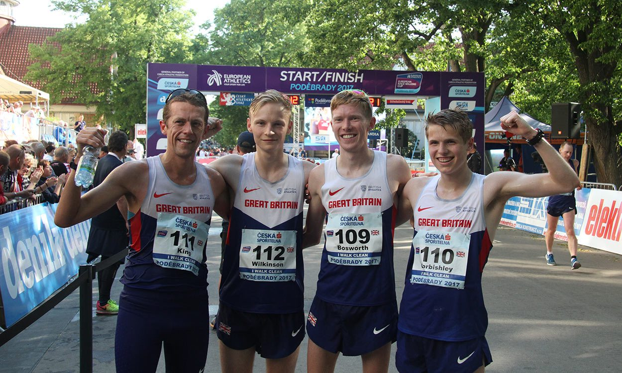 Tom Bosworth bags Britain's highest ever finish at Euro Race Walking Cup
