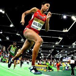 Ajee Wilson loses American indoor 800m record