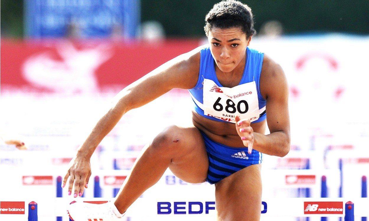 Alicia Barrett smashes UK junior record in Bedford