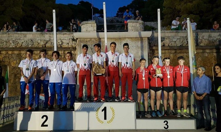 England U18 men win team bronze at International Mountain Running Youth Cup - weekly round-up
