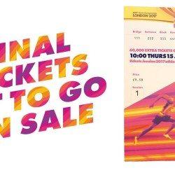 Extra London 2017 tickets available to mark 50 days to go milestone